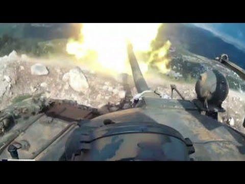 Сирийская армия перешла в масштабное наступление
