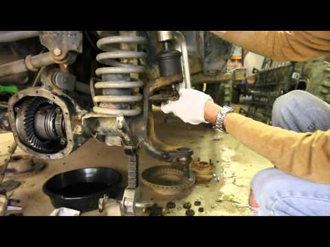 How-To replace Dana 30 and 44 Ball Joints part 1 of 3 (removal with cheap press)