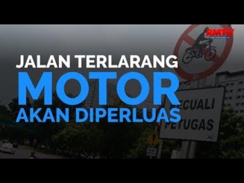 Jalan Terlarang Motor Akan Diperluas