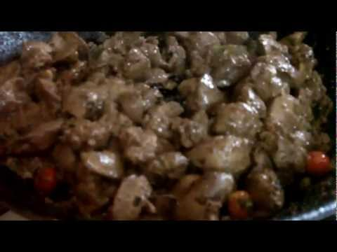 Guyanese Recipe: Caribbean Stir Fry Chicken Livers