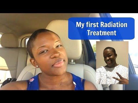 My first Radiation Treatment | Breast Cancer