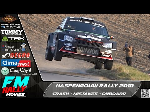 Haspengouw rally 2018 | Mistakes - Full attack - Onboard [HD]