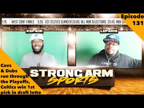 Strong Arm Sports Podcast Epi 131 | Sweeps All The Way to the Finals?!?