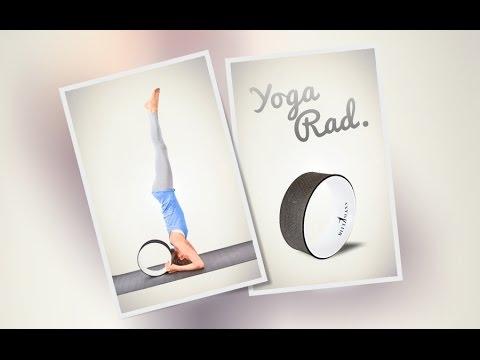 Yoga Wheel Übungen Das Yogarad im Praxiseinsatz!