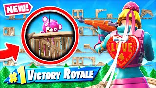 IMPOSSIBLE Infantry RIFLE Death RUN *NEW* Game Mode in Fortnite Battle Royale