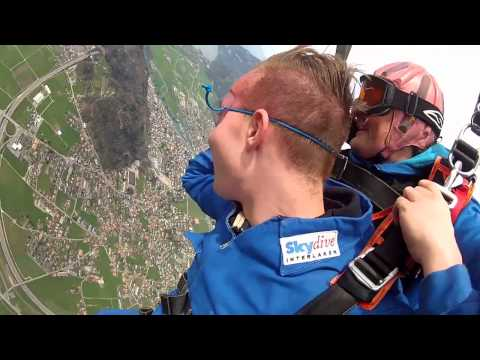 Skydive Interlaken Austin 02.04.2014