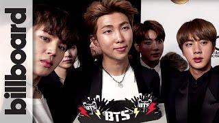 BTS Win Their First Billboard Music Award, Backstage Reaction | Billboard Music Awards 2017 Video