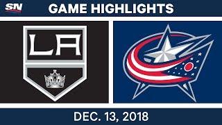 NHL Highlights | Kings vs. Blue Jackets - Dec 13, 2018 by Sportsnet Canada