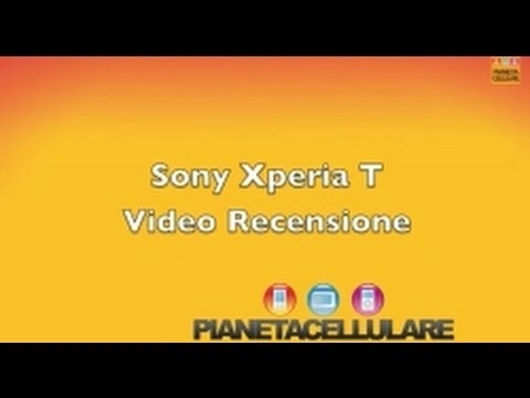 Foto Video recensione completa Sony Xperia T