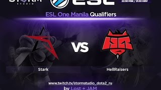 HR vs STARK, game 1