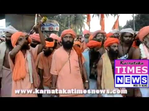 'Paryaya Raja  Shri Shri Nirmalnath ji welcomed in Mangaluru