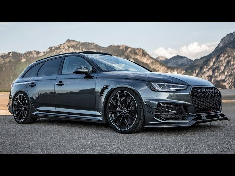 WOW! 2018 AUDI RS4-R (530hp/690Nm) - BLACKED OUT - WANTFACTOR!! - ABT Sportsline At Its Best?