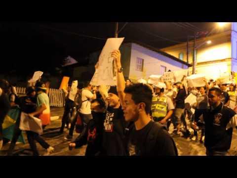 PROTESTO EM SANTANA DE PARNAIBA