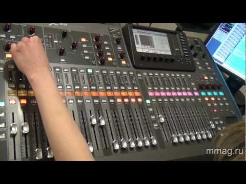 mmag.ru: Behringer X32 video review and demo