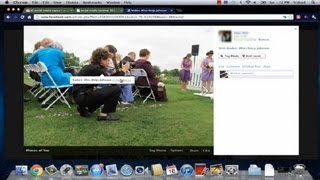 How to Change the Order of Tagged Photos on Facebook : Facebook Tutorials