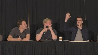 Bronies React panel from Crystal Mountain Ponycon 2017 with ACRacebest ,  BVids , and Black Gryph0n