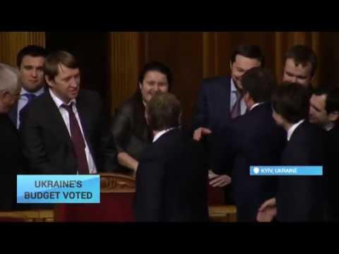 Economic News: Ukraine Parliament passes 2017 budget