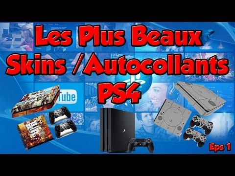 Les Plus Beaux Skins/Autocollants PS4