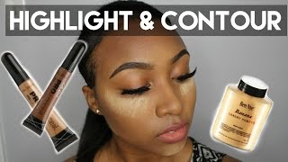 Easy Highlight & Contour Talk Through - Beginner Friendly - YouTube