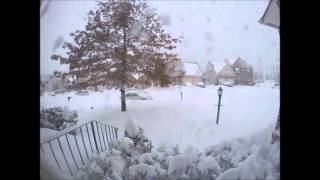 Dumfries (VA) United States  city pictures gallery : Winter Storm Jonas- Blizzard 2016 Timelapse (Dumfries, VA)