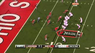 Ricky Wagner vs Ohio State (2011)