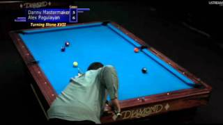 Danny Mastermaker Vs Alex Pagulayan - Turning Stone Classic XVII 9-Ball Open 2011