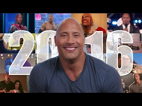 The Rock Thanks You For A Great 2016!