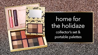 swatch: home for the holidaze collector�s set & portable palette