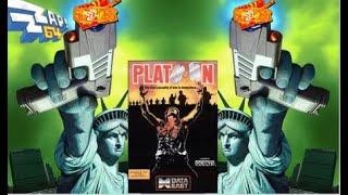 PLATOON C64 COMMODORE 64 CLASSIC RETRO VIDEO GAME WALKTHROUGH GUIDE