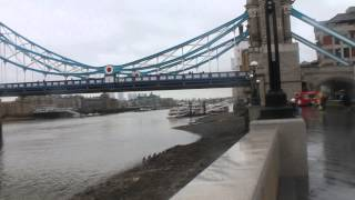 London Walk From The Shard To The Tower Bridge / Прогулка от The Shard до Тауэрского Моста, Лондон