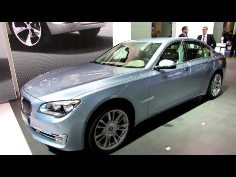 2013 BMW ActiveHybrid 7 – Exterior – 2012 Paris Auto Show