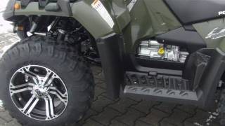 6. POLARIS SPORTSMAN 550 EFI X2 MY 2011 4x4