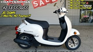 4. 2016 Honda 50 cc Scooter - Metropolitan Review of Specs / SALE @ Honda of Chattanooga