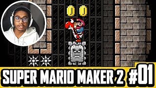 STEALING DASHIE'S LEVELS   Super Mario Maker 2 (Episode 1) by Tyranitar Tube