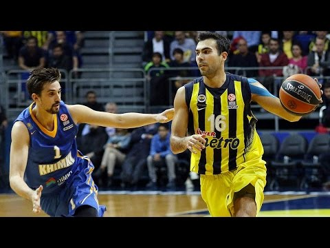 Highlights: RS Round 5, Fenerbahce Istanbul 88-83 Khimki Moscow Region