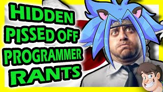 It's time to conclude our tirade trilogy with the Japanese edition of Pissed off Programmer Rants!Special Thanks to:Viink (from Famicom Dojo):https://www.youtube.com/user/FamicomDojoThe Easter Egg Hunter:https://www.youtube.com/user/ChipstursNerd Cubed:https://www.youtube.com/user/OfficialNerdCubedHbomberguy:https://www.youtube.com/user/hbomberguy& Jim Sterling:https://www.youtube.com/user/JimSterlingfor lending me their voices.Big thanks to the translating talents of:Pete Molskihttp://www.tlcheck.com Divingkataetheweirdo:Twitter - @kataetheweirdoGlitterberri:http://www.glitterberri.com& Magweaselhttp://www.magweasel.comFor their help in translating the rants to English.And finally, special thanks to Laird's Lair for the intro footage:https://www.youtube.com/user/LairdOfForsythSubscribe!!!http://www.youtube.com/subscription_center?add_user=LarryBundyJrPatreon: http://www.patreon.com/LarryTwitter: https://twitter.com/LarryBundyJrFacebook: https://www.facebook.com/groups/28124030222/Tumblr: http://gurularry.tumblr.com/Twitch.TV: http://www.twitch.tv/gurularryMore Fact Hunt Episodes:♒♒♒♒♒♒♒♒♒♒♒♒ ▶ 4 Games Cancelled Stupid Reasons:http://goo.gl/15lKhT ▶ 4 Shitty Patents that Ruined Gaming:http://goo.gl/95Ia67 ▶ 5 Game Consoles Literally Rotting Away:http://goo.gl/9SZBYR ▶ 5 Purposely Broken, Unbeatable Games by Dickish Developers:http://goo.gl/u8BGvY ▶ 5 Suspicious Review Scores with Insane Backlashes:https://goo.gl/3CO2g5 ▶ The Rise and Fall of 3 YouTube Gaming Channels:http://goo.gl/sw3NYv   ▶ Top 5 Offensive Passcodes:http://goo.gl/srHAh9  ▶ 4 Times Shigeru Miyamoto was an Asshole:https://goo.gl/gX45aY ▶ 3 Major Gaming Scandals That Were Buried:http://goo.gl/t1vBQl ▶ Top 5 Offensive Cheat Codes:http://goo.gl/KM7hiY ▶ 5 Games You Never Knew Had Sequels:http://goo.gl/zQ5ndA ▶ 5 Insane Reasons Games were ported to the Same System Twice:http://goo.gl/T8Oe9a ▶ 5 Hilariously Idiotic Gaming Screw-Ups:http://goo.gl/7gMLbT ▶ Top 5 Stupid Things Said by Games Journalists:http: