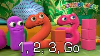 NUMBERJACKS | 1, 2, 3, Go | S1E38