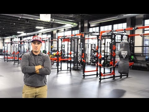 Touring Rogue Fitness' Insane 600K SQ FT Headquarters  Behind the Iron