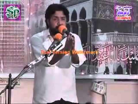 sherazi - Zakir Zuriat Imran Sherazi and Zakir Taqi Abbas Qayamat reading masaib.