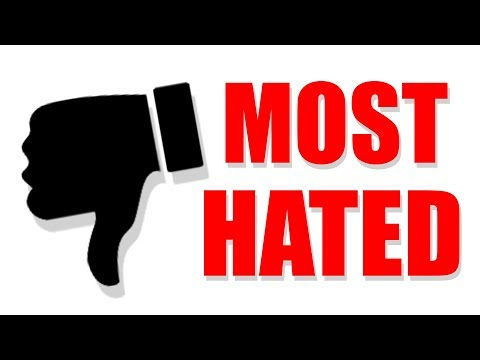 The Most HATED YouTube Videos