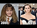 Harry Potter Antes y Después 2016