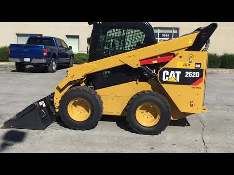 CATERPILLAR CHARGEURS COMPACTS RIGIDES 262DSTD2CA equipment video bfgts9zMd2U