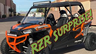 9. RZR 4 900 - New Ride for the fam!