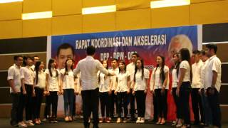 Video Perindo Sulut Choir - Paduan Suara Mars Perindo MP3, 3GP, MP4, WEBM, AVI, FLV Juli 2018