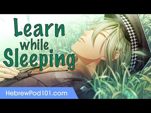 Learn Hebrew While Sleeping 8 Hours - Learn ALL Basic Phrases