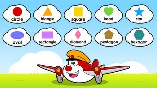 Learn Shapes for Children, Little Flyers