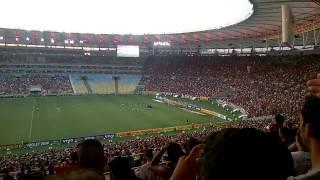 Flamengo 3 X 0 Cruzeiro no Maracanã, 28ª rodada do Brasileirão 2014.