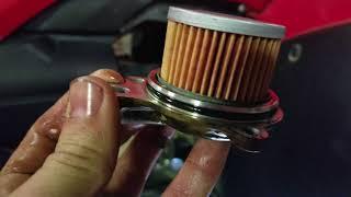 7. Honda foreman oil change.