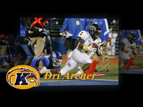 Kent State's Dri Archer, First Five Games video.