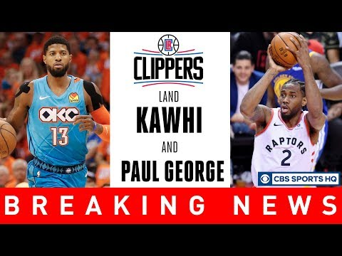 Video: KAWHI LEONARD & PAUL GEORGE TO THE CLIPPERS | NBA Free Agency | CBS Sports HQ